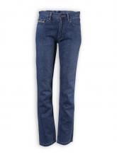 Blue Denim Jeans von HempAge in denim