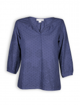 Bluse von Madness in cobalt blue