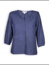 Bluse von Madness in cobalt blue