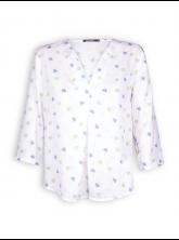 Bluse Charming von GreenBomb in white