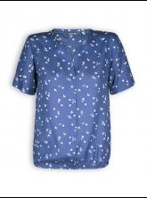 Blusenshirt Fluffy von GreenBomb in ocean blue