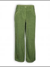 Breitcord-Marlenehose von bloomers in grün