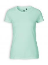 Fitted T-Shirt von Neutral in dusty mint