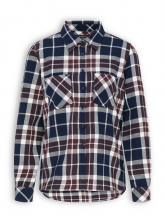 Flanellbluse von recolution in red checked