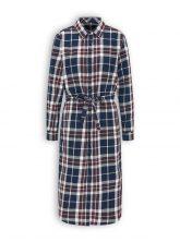 Flanellkleid von recolution in red checked