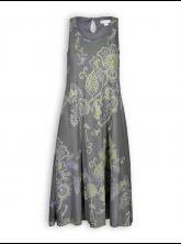 Langes Kleid von Madness in graphit gemustert
