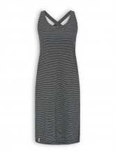 Kleid von Recolution in black/white striped