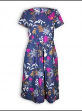 Kleid Carina von Lana in in Tukan mood indigo
