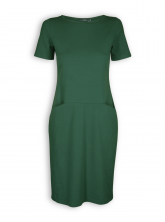 Kleid Corina von Lana in dark green
