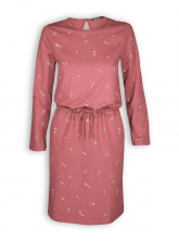 Kleid Cute von GreenBomb in marsala red