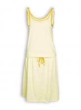 Kleid Mika von Slowmo in pastell gelb