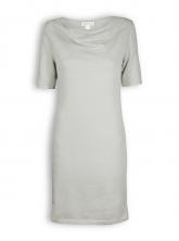 Kleid mit Wasserfallkragen von Madness in grey