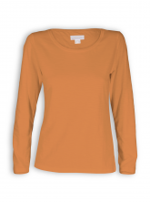 Longsleeve von Madness in burntorange