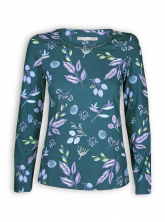 Longsleeve von Madness in Pretty Flowers Print pinie