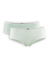 Panty Bridget (2-er Pack) von Living Crafts in mint
