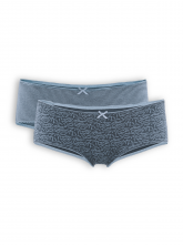 Panty Bridget (2-er Pack) von Living Crafts in night blue