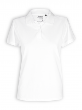 Polo Shirt von Neutral in white