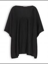 Poncho von recolution in black