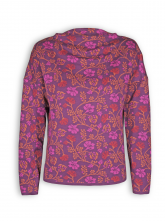 Pulli Julika von Lana in purple flamingo