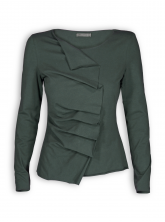 Shirt Lilly von Lana in deep green