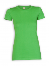 Slim Fit T-Shirt von EarthPositive in light green