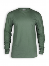 Basic Longsleeve von Neutral in olive