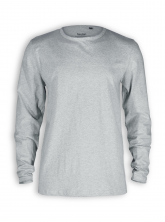 Basic Longsleeve von Neutral in sports grey
