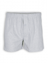 Boxer Short von Living Crafts in grey melange