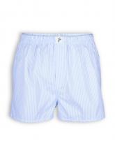 Boxershort von recolution in blau-weiß gestreift