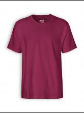 Classic T-Shirt von Neutral in bordeaux