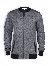 College Jacke von recolution in salt'n'pepper