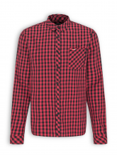 Kariertes Flanell Hemd von recolution in red/black