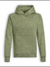 Hoodie Star von GreenBomb in heather khaki