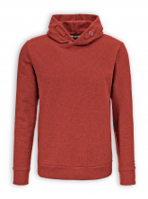 Hoodie Star von GreenBomb in heather red