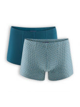 Pants Hogan (2er Pack) von Living Crafts in grey melange/petrol