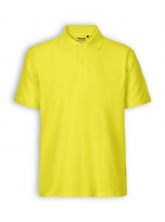 Polo Shirt von Neutral in yellow