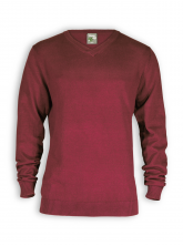 Pullover James von HempAge in chestnut