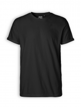 Roll up Sleeve T-Shirt von Neutral in black