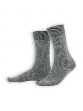 Socken Benno von Living Crafts in dark mouliné