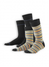Socken Iven (2er Pack) von Living Crafts in multicolour