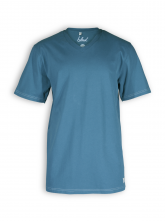 V-Neck T-Shirt von Bleed in legion blue
