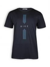T-Shirt von GreenBomb in black mit Print Bike Drive