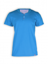 T-Shirt von recolution in bright blue
