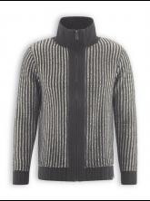 Troyer Jacket von HempAge in anthra / nature