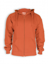 Zip Hoodie von Neutral in orange