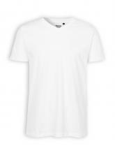 V-Neck T-Shirt von Neutral in white