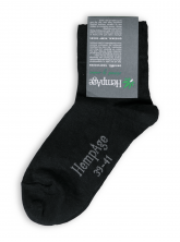 Ultra Light Socks von HempAge in schwarz