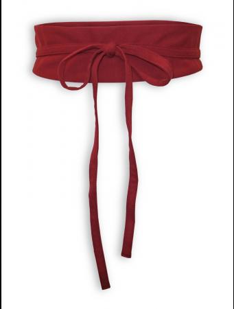 Bindegürtel Eva von Lana in red dahlia