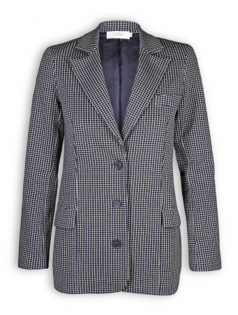 Blazer Ambre von Lana in grid nightblue