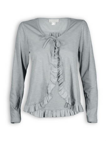 Cardigan von Madness in steelgrey